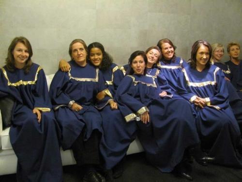Het koor in Robes.